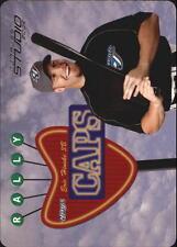 2004 Studio Rally Caps Die Cut #14 Eric Hinske Blue Jays /500