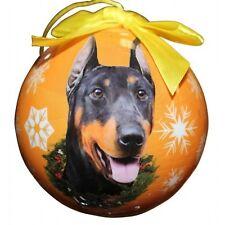 Doberman ~ Christmas Ball Ornament #101