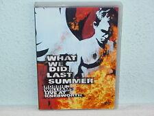 "*** DVD-ROBBIE WILLIAMS ""What we did last summer-Live at Knebworth"" -2003 EMI ***"