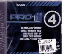PRO DJ HOUSE 4 CD SEALED SIGILLATO