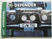LAND ROVER DEFENDER orig 2000 UK Mkt Prestige Accessories Brochure Catalogue