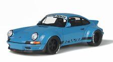 PORSCHE RWB 911 930 BLUE 1/18 MODEL CAR BY GT SPIRIT FOR KYOSHO KJ007