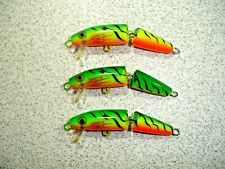 3 x Rapala Jointed Minnow :- J-5 in Fire Tiger (FT) - Ireland - New