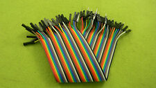 40PCS 100cm Dupont Wire Connector Cable Female to Male 1P-1P 2.54mm Jumper