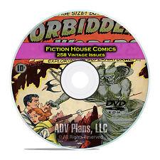 Forbidden Worlds, Planet Comics, Ghost, Kaanga, Golden Age Comics DVD C76