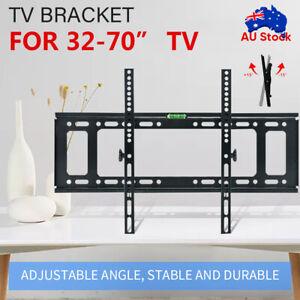 TV Wall Mount Bracket Tilt Slim LCD LED 32 40 42 47 50 55 60 62 65 70 75 inch