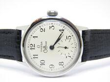 Omega ufficiale di Acciaio Inox Meccanico Avvolgitore Uomini Orologio Vintage