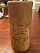 Antique Wooden Medicine Container