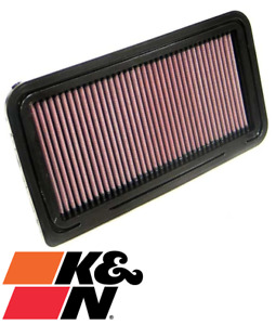 K&N REPLACEMENT AIR FILTER FOR MAZDA MX-5 NC LFDE 2.0L I4