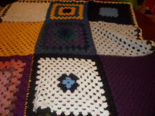 Chunky Crochet - Granny Knit - Chunky Knitted Blanket / Sofa Throw