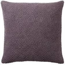 "NEW Pottery Barn Washed Diamond Pillow Cover Sham Napa Grape Purple 20"" SOLD OUT"