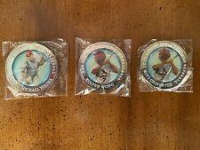 Set of 3 Springfield Cardinals Collector Coins – Wacha, Wong, Carpenter - 2015