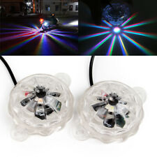 2PCS LED Colored Light Motorcycle Underglow Car Body Atmosphere Lighting Lamp