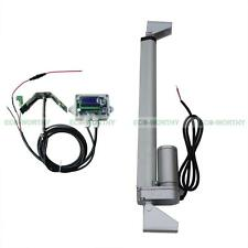 """12V DC Solar Single Axis Sun Tracker Tracking System Kit & 14"""" Linear Actuator"""