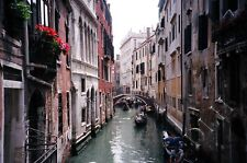 Fine Art Photograph of Canal in Venice Italy/2 Enlargement Sizes Available