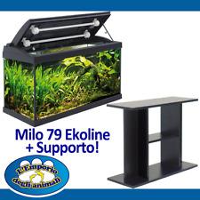 Mtb Acquario Milo 79 Ekoline Nero 2 T5 108 litri