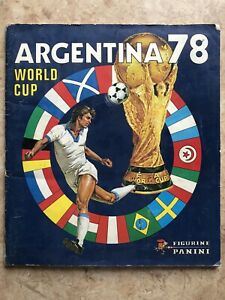 Panini 1978 Argentina World Cup 100% Complete/Original EX+ Condition +Posters