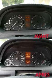 Réparation affichage compteur Mercedes Classe B W245