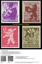 EBS Germany 1945 SBZ Berlin Bear Berliner Bär Michel SBZ 2,4,5,6,7 wb z MNH**