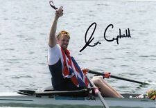 ALAN CAMPBELL HAND SIGNED GREAT BRITAIN 6X4 PHOTO.