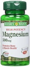 Natures Bounty  Magnesium Ox 500mg Tab 100ct