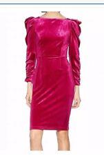 Dorothy Perkins Dress Size 14 Red Dark Pink Brand New Rrp$89 - Designed UK Label