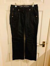 Black River Island Supreme Slouch Fit Denim Jeans Size 8 S (4360)