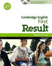 Oxford CAMBRIDGE ENGLISH FIRST FCE RESULT Teacher's Pack w DVD for 2015 Exam NEW