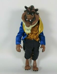 """Disney Store Beast Doll Beauty And The Beast 13.5"""" Action Figure Free post"""