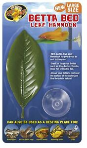 Zoo Med Betta Bed Leaf Hammock Green Large    Free Shipping