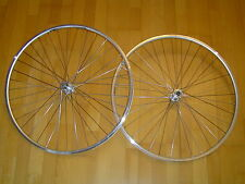 """28"""" Rennrad Laufradsatz Schraubkranz Nabe 6-7-fach silber NEU"""