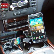 Car Phone Mount Holder+USB Port+Lighter Port Fit Samsung Galaxy Note 2 N7100