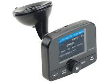 """Transmetteur FM avec bluetooth et récepteur DAB/DAB+ """"FMX-640.dab"""" - Auvisio"""