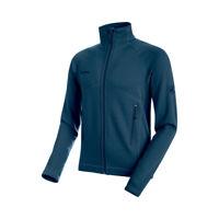 Mammut Herren Fleece Jacke, Fleece Jacke Aconcagua Jacket Men, blau, Gr: L
