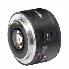 Yongnuo YN35mm Fixed F/2 Large Aperture AF & MF Lens for Canon EF EOS Camera
