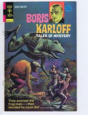 Boris Karloff Tales of Mystery #55 Gold Key 1974