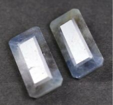 GIE Certified 100% Genuine 46.05 CT Loose Blue Sapphire  Gemstone  2 pcs