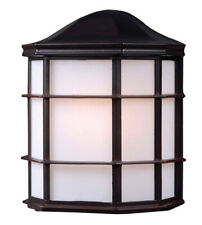 Alcove 1-Light Oil Rubbed Bronze Outdoor Wall-Mount Lantern Sconce Brand New