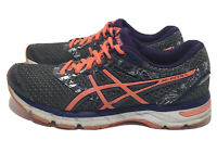 Asics Gel-Excite 4 Women's Size 9 Gray Coral Purple Athletic Running Shoes T6E8N