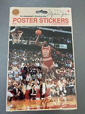 Michael Jordan 1988 Chicago Bulls Poster Sticker Jump Inc 5
