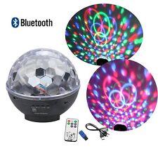 LED RGB magische Kristallkugel DJ-Disco-Bühnenbeleuchtung mit Fernbedienung USB