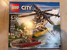 Lego 60067 CITY Helicopter Pursuit. New, Retired, Free Shipping