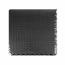 AUTO PRO BLACK INTERLOCKING FLOOR TILE, 2.16M² PACK 1399