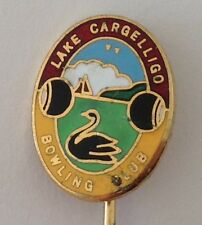 Lake Cargelligo Bowling Club Badge Pin Lawn Bowls (L13)