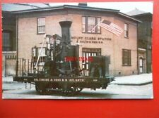 POSTCARD BALTIMORE & OHIO TRANSPORTATION MUSEUM = ATLANTIC ORIGINAL 1832
