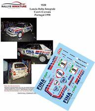 DECALS 1/18 REF 1539 Lancia Delta Integrale Cerri Cerrato Portugal 1990