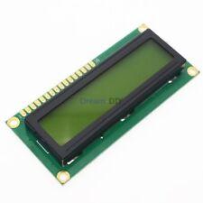 1602 16X2 Character LCD Display Module HD44780 Controller Yellow Backlight MCU