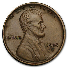 1914-S Lincoln Cent AU - SKU#154270