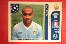 PANINI CHAMPIONS LEAGUE 2011/12 N 44 CLICHY MAN. CITY WITH BLACK BACK MINT!!