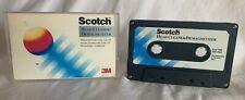Scotch Cassette Demagnetizer Head Cleaner Tape Decks